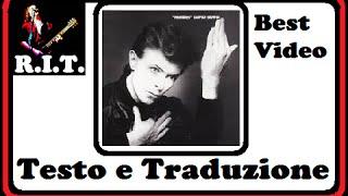 David Bowie - Heroes video con testo originale e traduzione simultanea