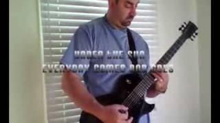 black sabbath riffs in c# tuning (part 1)
