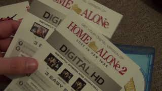 Home Alone & Home Alone 2 Movie Collection Blu-Ray Unboxing