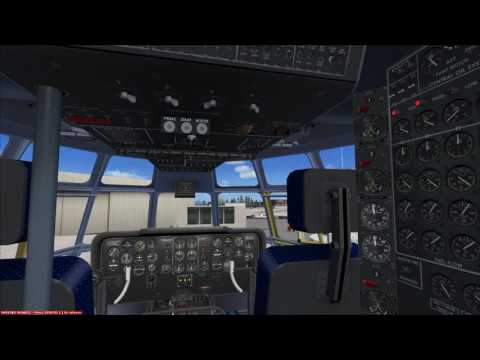 Starting the A2A Simulations B377 Stratocruiser