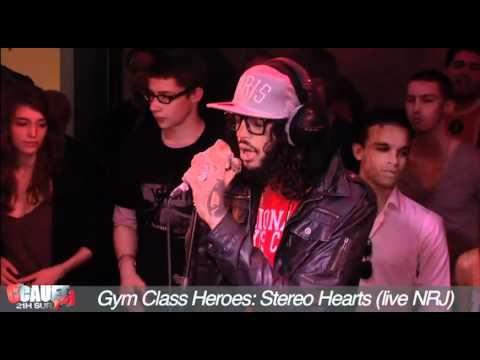 Gym Class Heroes- Stereo Hearts - Live - C'Cauet sur NRJ