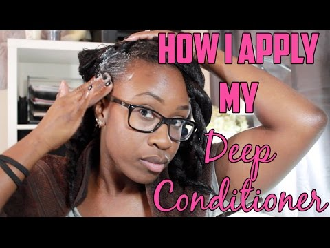Hairlicious Inc.: How I Apply My Deep Conditioner
