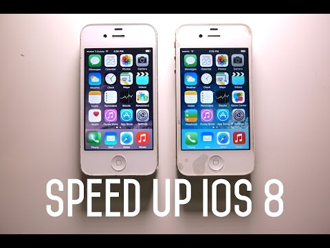 Did IOS 8 Slow Down The IPhone 4S? How To Speed Up IOS 8