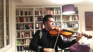 HALLELUJAH. Tribute to Leonard Cohen on the day of his death. Aurélien Pétillot, Solo Viola
