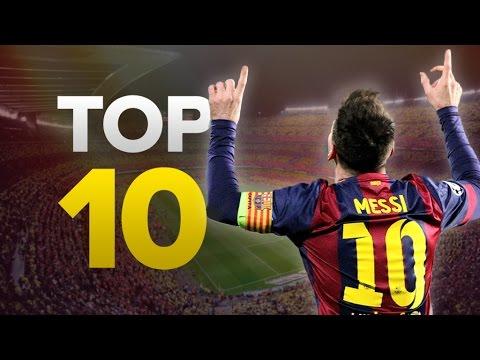 Top 10 Champions League Goalscorers of All-Time | Messi, Ronaldo, Ibrahimović!