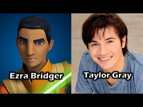 Characters and Voice Actors - Star Wars Rebels (The Complete Series Edition)
