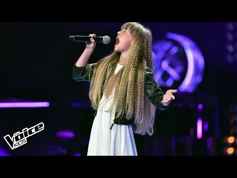 """Nela Zawadzka – """"Meluzyna"""" – Przesłuchania w ciemno – The Voice Kids Poland"""