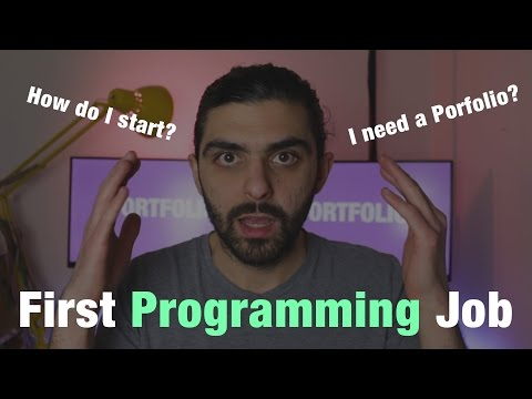 First Job As A Programmer? How To