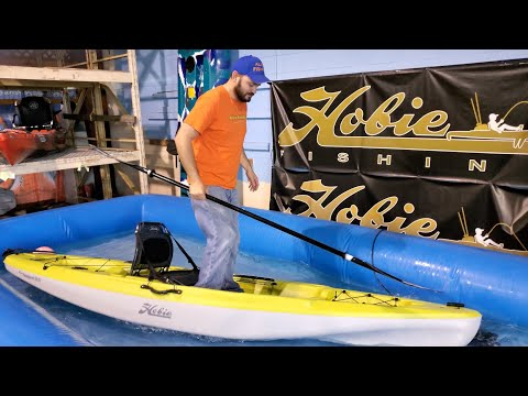 Affordable Pedal Drive Kayak HOBIE PASSPORT 12 With MIRAGE Classic