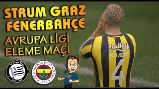 STURM GRAZ - FENERBAHÇE (AVRUPA LİGİ ELEME MAÇI) FIFA 17
