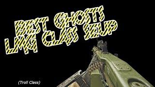 "Best Ghosts LMG Class set up (Gameplay) (The first time i played agains ""ImCoolAreYoulol"")"