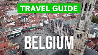 Belgium country video | Brussels City, Bruges, Antwerp | Drone 4k video | Belgium travel guide