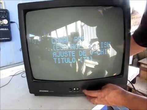 C mo resintonizar o sintonizar el televisor doovi for Perdida de senal tv