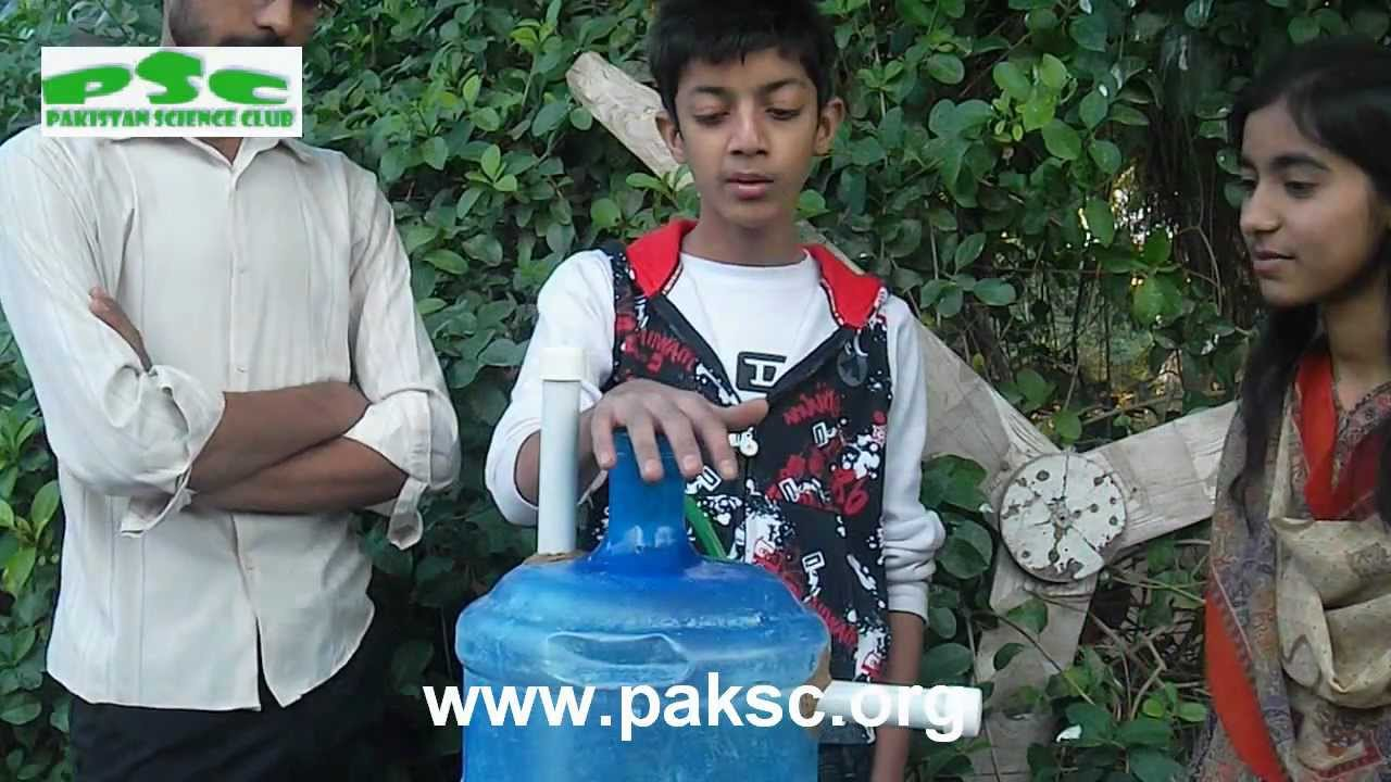Pak Science Club Youtube Gaming Small Biogas Digester Diagram In Hindi Plant Anaerobic