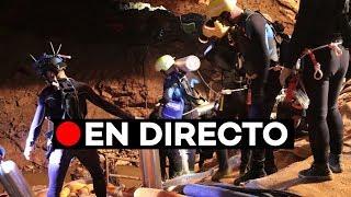 En directo: Rescate de los niños atrapados en la cueva en Tailandia