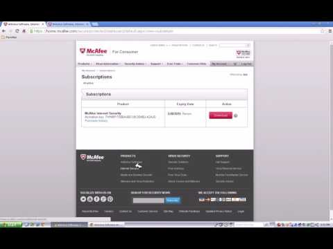 mcafee com/activate - How to activate and download your