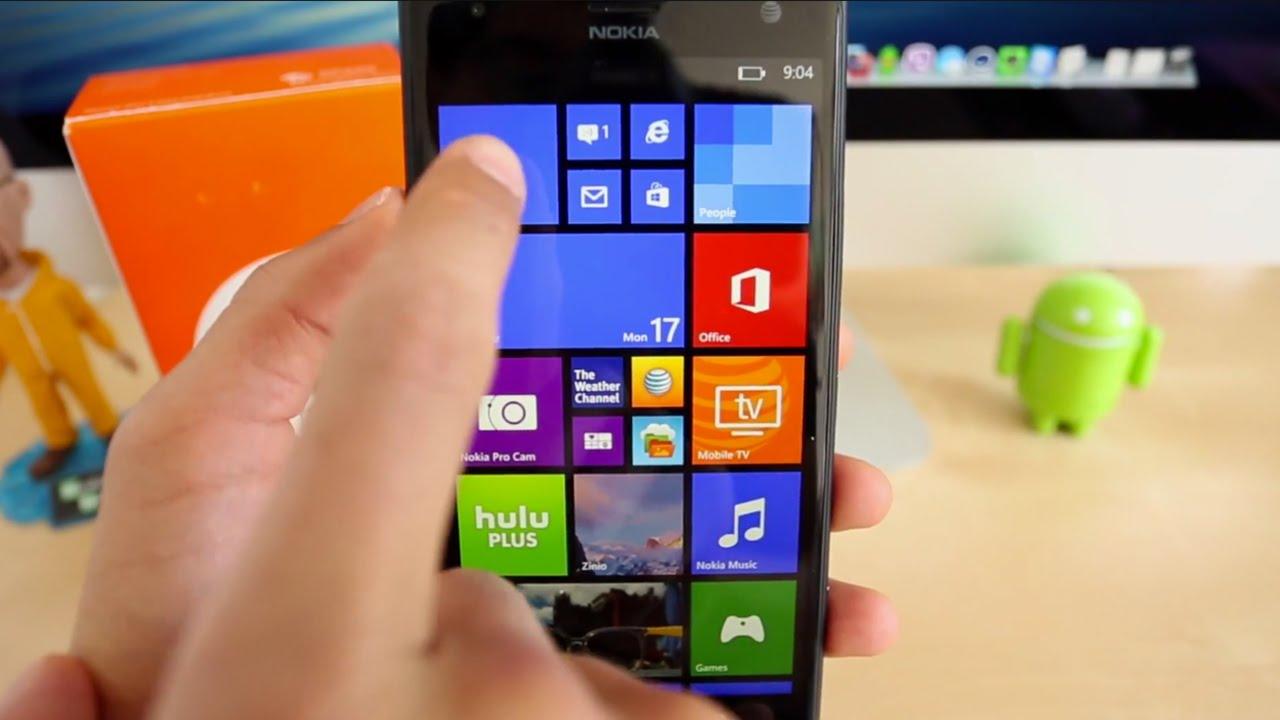 Ayarları Nokia Lumiya ya sıfırlamayı öğrenme