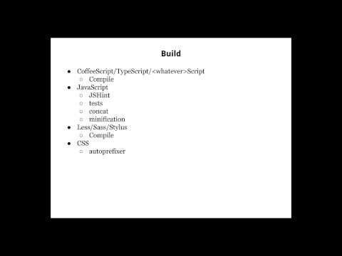 Project structure and asset management part1
