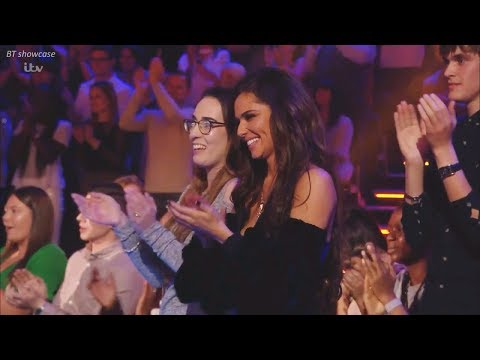 Cheryl in the Audience Interview & Cheering for Liam Payne X Factor UK 2017