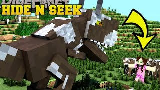 Repeat youtube video Minecraft: DINOSAURS HIDE AND SEEK - Morph Hide And Seek - Modded Mini-Game