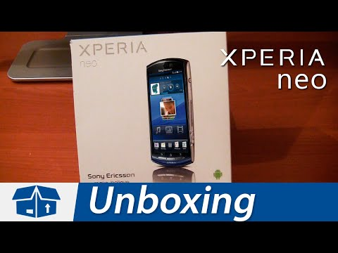 Sony Ericsson Xperia neo - Unboxing & Review