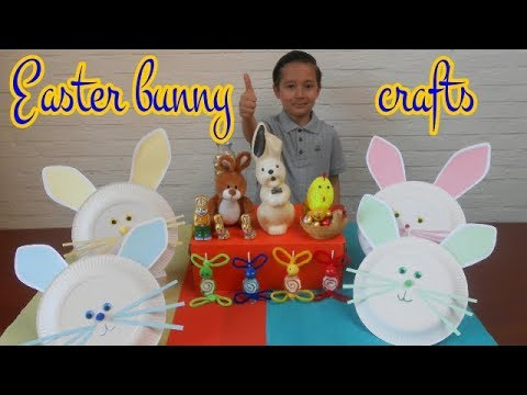 Easter bunny crafts ideas | Easter crafts | Fun and cute easter DIY