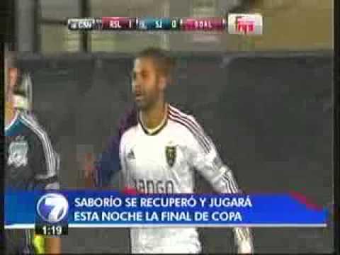 Alvaro Saborio se recupero de su lesion www.mariosegura.com