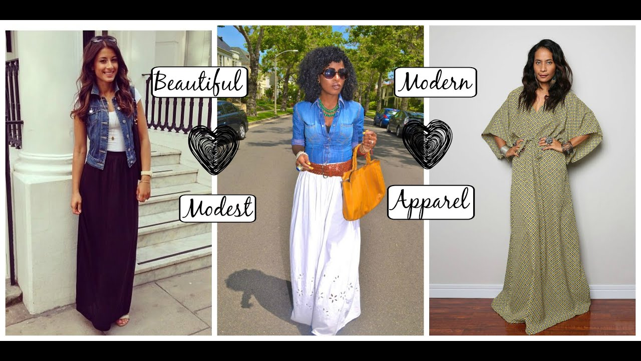 0689a1a529b2 How to Dress Modestly 26 Ideas | Spring / Summer Edition - YouTube