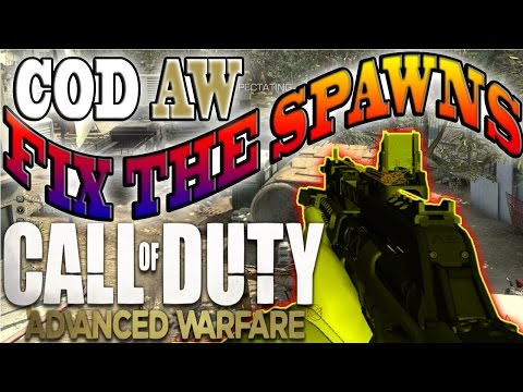 Call of Duty: ADVANCED WARFARE Multiplayer - Will the Spawns be Fixed