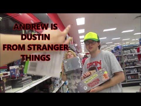 ANDREW IS DUSTIN FROM STRANGER THINGS