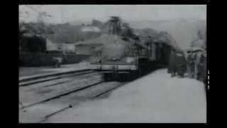 """Официальный первый фильм """"Прибытие поезда на вокзал Ла-Сиоты"""" 1985"""