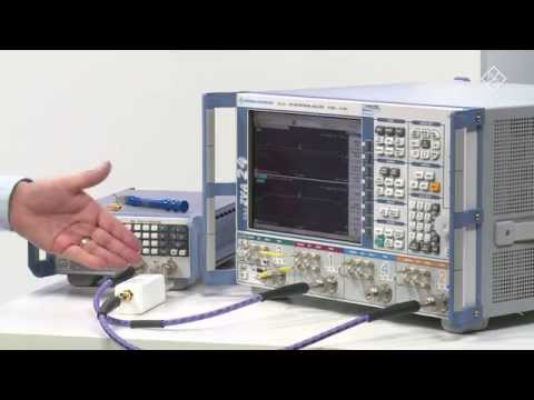 Group Delay Measurement On Devices With An Embedded LO Using The R&S ZVA Vector Network Analyzer
