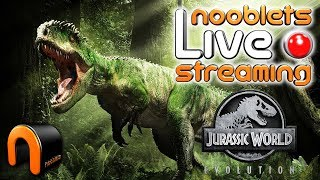 Jurassic World Evolution Ep 1 - NOOBLETS LIVE STREAM