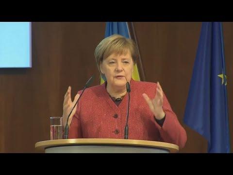 KRIM-KRISE: Kanzlerin Merkel kritisiert Russland deutlich