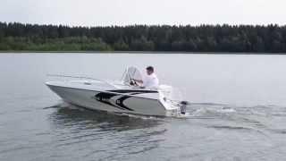 SUNLINER 500 MOTUS(500 Motus Pięciometrowa łódź zaburtowa. Może na niej pływać pięć dorosłych osób, swobodnie siedząc na ergonomicznie rozmieszczonych siedzeniach., 2012-10-22T13:08:03.000Z)