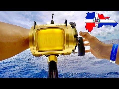 Deep Sea Fishing In The Dominican Republic (We Survived !)    DareToBeGreatFishing   DTBGFishing
