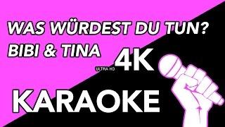 Was würdest Du tun - Bibi & Tina KARAOKE/INSTRUMENTAL IN 4K