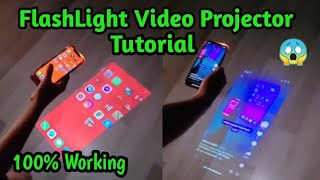 How to Mobile FlashLight Video Projector in Any Mobile💯😱| FlashLight HD Video Projector Tutorial screenshot 5