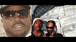 Daz Dillinger Shows He Makes MILLIONS of Music Royalties from His Music Tupac, Snoop Dogg and More