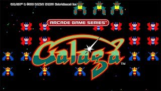 An AI tried to play Galaga... This is the result