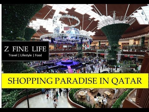 MALL OF QATAR 2018 in HD - shop till you drop in Doha  قطر مول