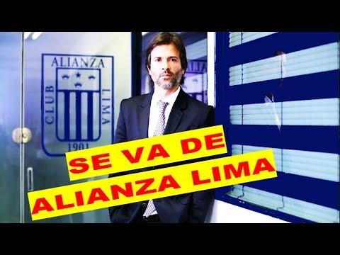 ALIANZA LIMA SE FUE BENJAMÍN ROMERO
