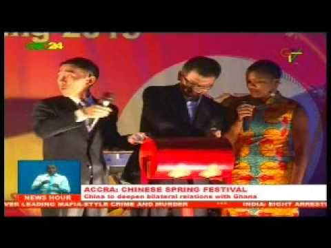 Accra: Chinese Spring Festival Celebration