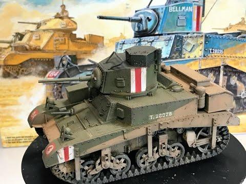 "AIRFIX® A1358 British M3 Stuart /""Honey/"" in 1:35"