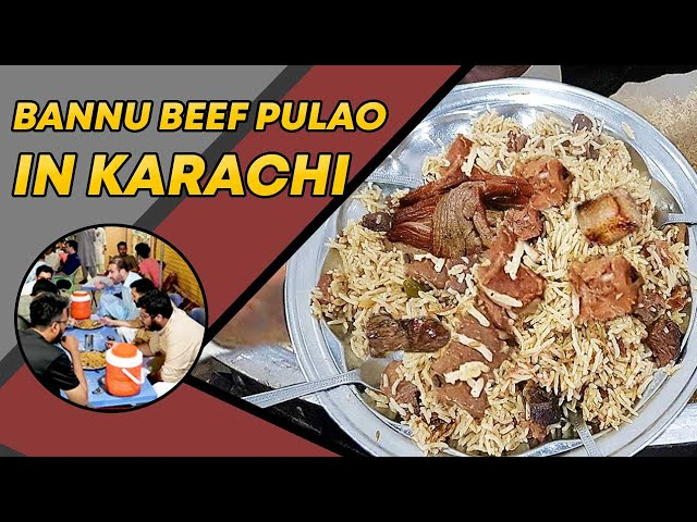 Bannu Beef Pulao In Karachi