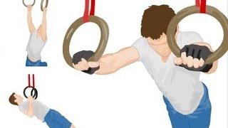 Крутые упражнения на кольцах! О которых возможно Ты не знал! Ring Basics for CrossFit