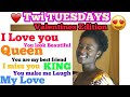 Twi Lessons for Beginners[Akan Twi Language] I love you..I miss you..You look beautiful..