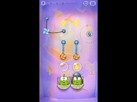 Cut The Rope Time Travel Level 1-12 Walkthrough | The Middle Ages Level 1-12 Walkthrough