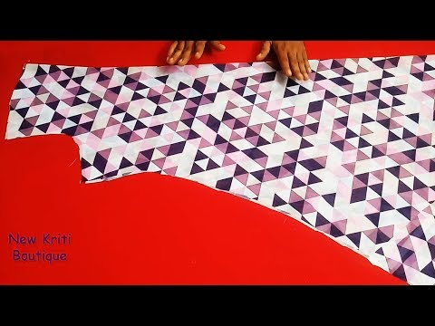 Latest Umbrella Suit/Kurti/Gown Cutting (Step By Step) In Easy Way : Part 1