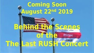 Rush - Behind the Scenes - The Last Rush Concert - Fan Film Teaser